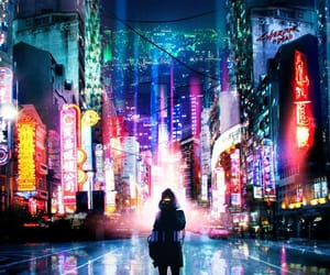 aesthetic, night, and city image