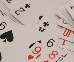 cards, playing cards, and poker cards image