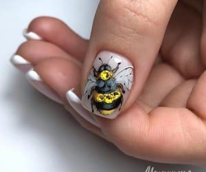 art, beauty, and bee image