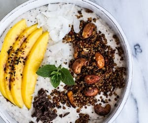 banana, coconut, and food image