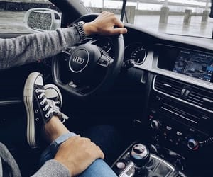 couple, love, and audi image