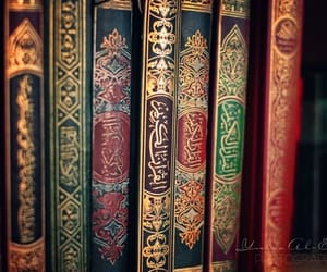 quran, book, and islam image
