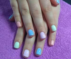 nails, summer, and νυχια image