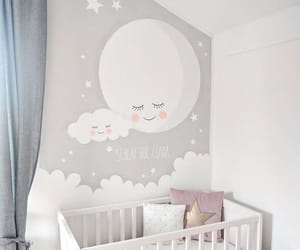 baby, Chambre, and nuage image