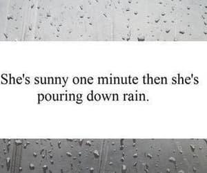 quotes, sad, and rain image