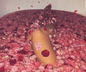 bath, pretty, and vibin image