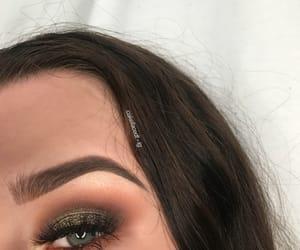 eyebrows, eyeshadow, and lashes image