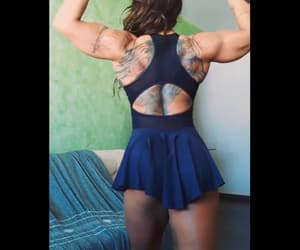 musclé, female muscle, and female bodybuilders image
