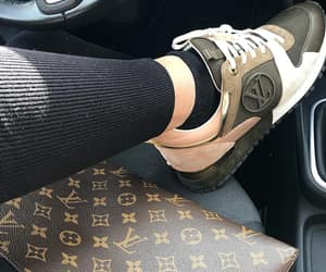 Louis Vuitton, luxury, and sneakers image