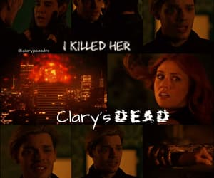clary fray, simon lewis, and clace image