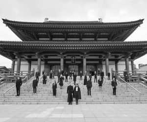 black and white, matrimonio, and japan image