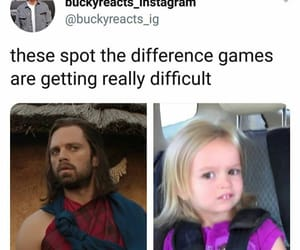 meme, Marvel, and sebastian stan image