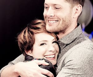 Felicia Day, Jensen Ackles, and supernatural image