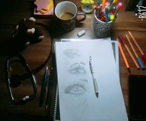 art, calm, and school image