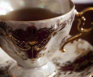 elegant, teaparty, and tea image