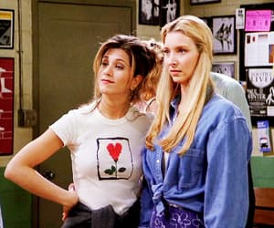 phoebe buffay, rachel green, and friends image