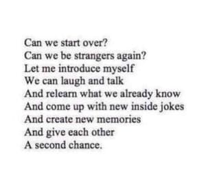 love, quotes, and second chance image