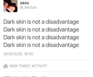 black power and dark skin image