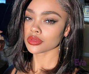 beautiful, beauty, and lipstick image
