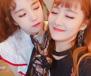 kpop, soojin, and miyeon image