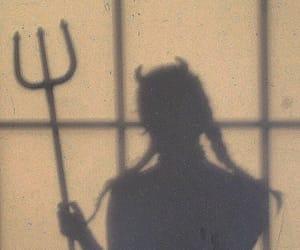girl, Devil, and grunge image