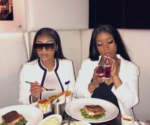 aaliyah, love, and dinner image