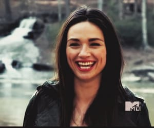 smile, allison argent, and teen wolf image