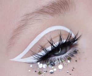 art, cosmetics, and eyeliner image