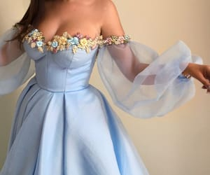 blue, clothes, and dress image