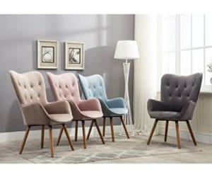 chair, design, and living room image