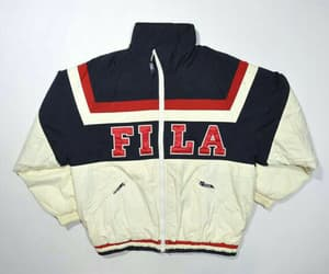 fashion, sweatshirt, and Fila image