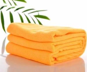 orange microfiber towels image