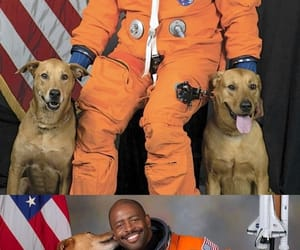 astronaut, partners, and leland melvin image