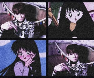 aesthetic, anime, and header image