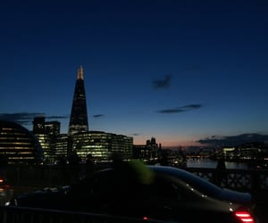 city, london, and night image