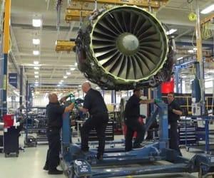 aerospace, repair, and aircraft image