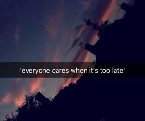 sad, quotes, and true image