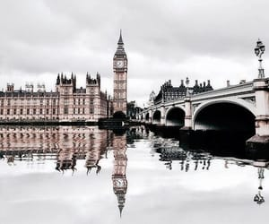 Big Ben, london, and water image