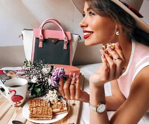 accessories, beautiful girl, and blogger image
