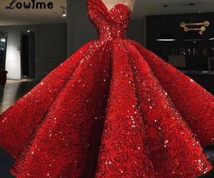 amazing, dress, and glitter image
