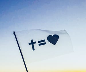 cross, god, and God is Love image