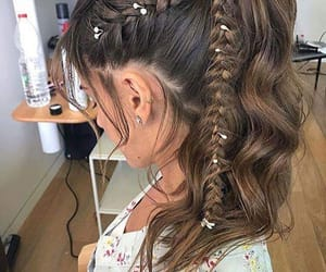 braids, fashion, and hairstyles image