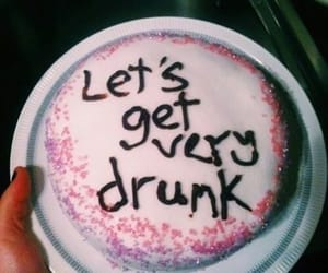 cake, drunk, and grunge image