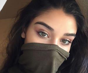 girl, eyes, and eyebrows image