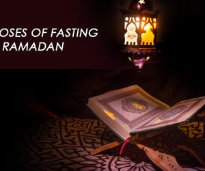 islam, hajj, and ramadan fasting image
