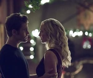 tvd, stefan, and caroline image