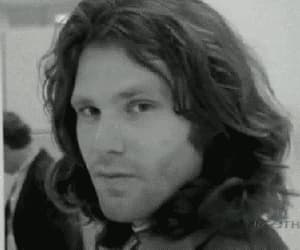 Jim Morrison, gif, and the doors image