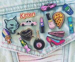 90s, fashion, and girly image