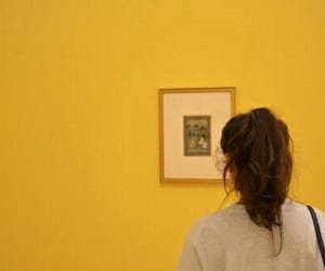 yellow, aesthetic, and art image