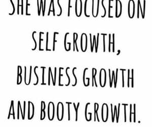 booty, business, and self growth image